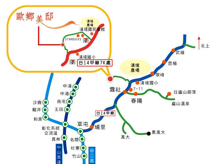 义新欧铁路地图
